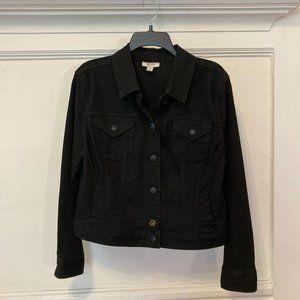NEW Style & Co Size Petite XL Denim Jean Jacket
